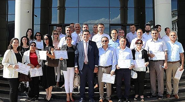 Çayırova'da 30 okul sertifikasını aldı