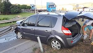 Darıca'da 2 ayrı trafik kazası: 2 yaralı