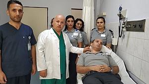 Darıca Farabi'de güvenlik görevlisi darp edildi