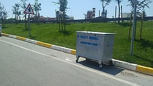 Dilovası'nda çöp konteynerleri yenilendi