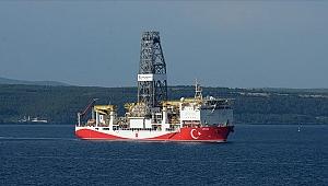 Dilovası'ndan yola çıkan 'Yavuz' gemisi Mersin açıklarına ulaştı