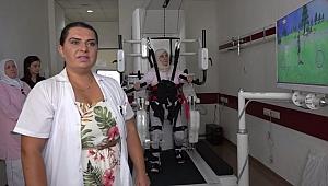 Farabi Eğitim ve Araştırma Hastanesine robotik yürüme cihazı