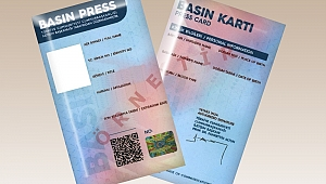 Gazetecilerin beklediği Basın Kartlarının dağıtımına başlandı