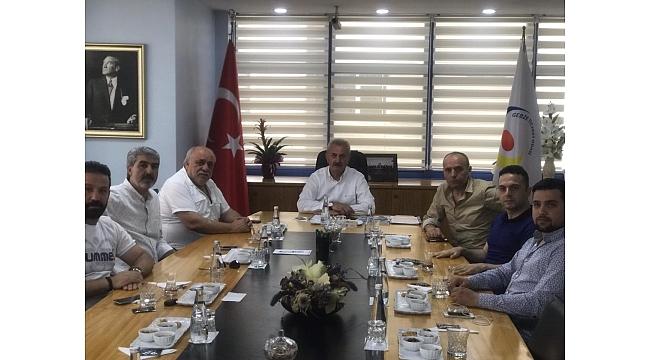 Gebzespor yönetimi ziyaretlerini sürdürüyor