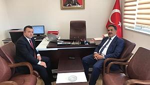 Güler'den, Burak Bayrak'a iade-i ziyaret!