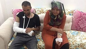 Kiralık ev tartışmasında anne ve oğlu dövüldü