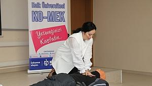 KO-MEK'ten GTÜ'ye ilkyardım eğitimi
