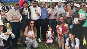 Levent Altun'a Ardahan'da sevgi seli