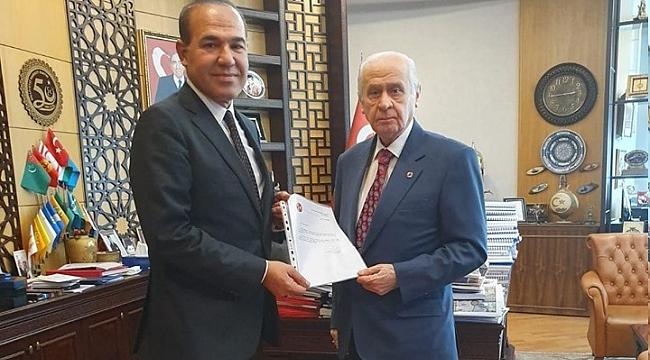 Mehmet Kurtoğlu'ndan destek