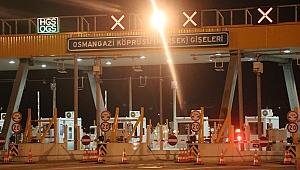 Osmangazi Köprüsü'nde göçmen operasyonu