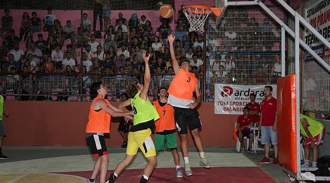 Sokak Basketbolu rekor katılım ile yapılacak