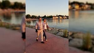 Vali Aksoy eşiyle Darıca sahilini gezdi