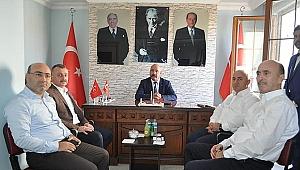 Büyükakın, MHP Darıca'yı ziyaret etti