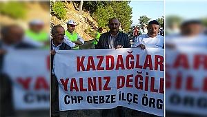 CHP Gebze Kaz Dağları'nda