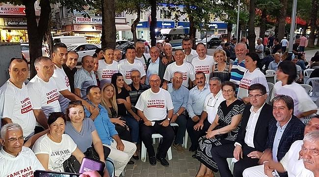 CHP Kocaeli, Sakarya'daki eyleme katıldı