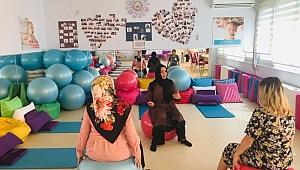 Darıcalı annelere gebelik eğitimi verildi