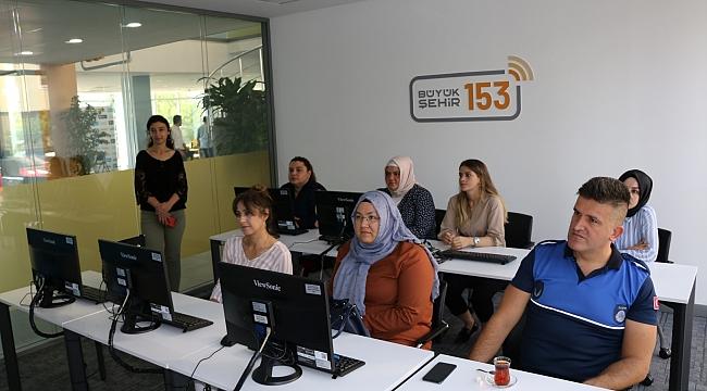 Derince Belediyesi personeline '153' eğitimi