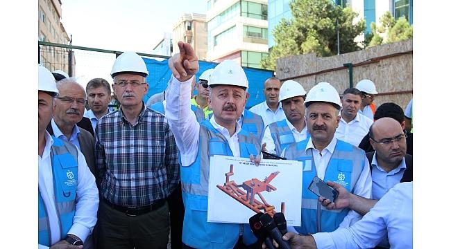 İstanbul'u Kocaeli'ye bağlayacak Gebze metrosunu Bakanlık devraldı