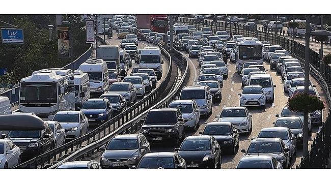 Kocaeli'de araç sayısı düştü