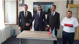 MHP Darıca'da bayrak değişimi