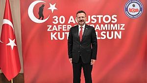 Vali Aksoy 30 Ağustos Zafer Bayramını kutladı