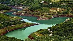 Yuvacık Barajı'nda su seviyesi düşüyor