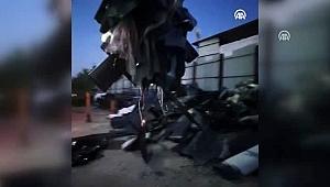 10 kişi gözaltına alındı… Metal pirinç yüklü kamyonu çaldılar!