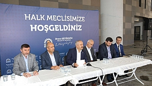 Başkan Büyükgöz Adem Yavuz'u Dinledi