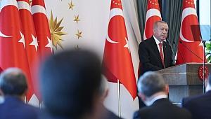 Erdoğan'dan büyükşehir belediye başkanlarına mesaj