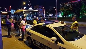 Gebze'de Halk otobüsleri denetlendi, çıkan malzemeler ekipleri bile şaşırttı!