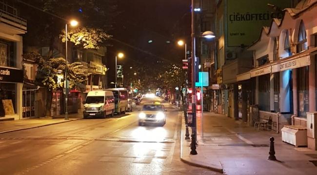 İnönü Caddesi ışıl ışıl oldu