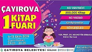Kitapseverler Çayırova'da buluşacak