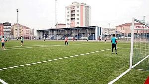 Metin Oktay Stadı'nda talihsiz kaza