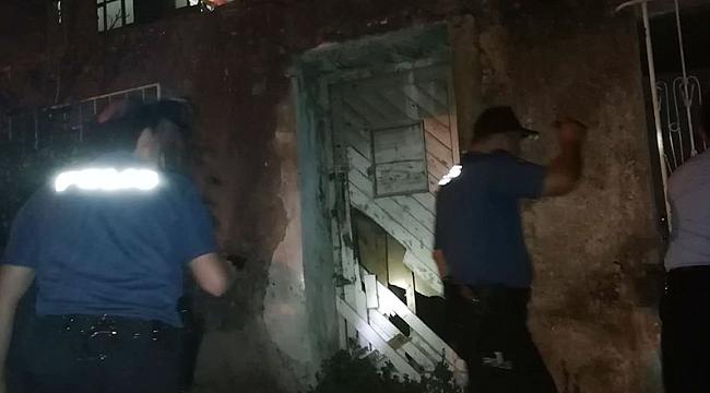 Polis metruk binaları tek tek kontrol etti!