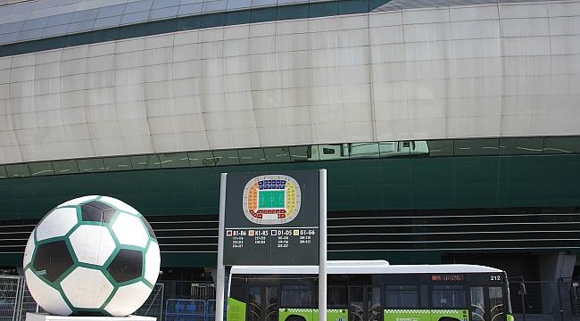 UlaşımPark'tan kupa maçına özel hat