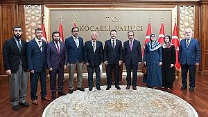 Vali Aksoy, din görevlilerini ağırladı