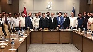 Vekil Yaman, Ekonomi Kulübü'nün konuğu oldu