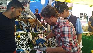 80 kilo balığa el konuldu