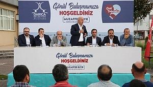 Başkan Bıyık'tan mahalle toplantısı