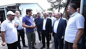 Başkan Büyükgöz Söz Vermişti;  Marmara Nakliyecilerde Esnaf Mağdur Olmuyor!