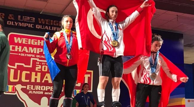Berfin Avrupa şampiyonu