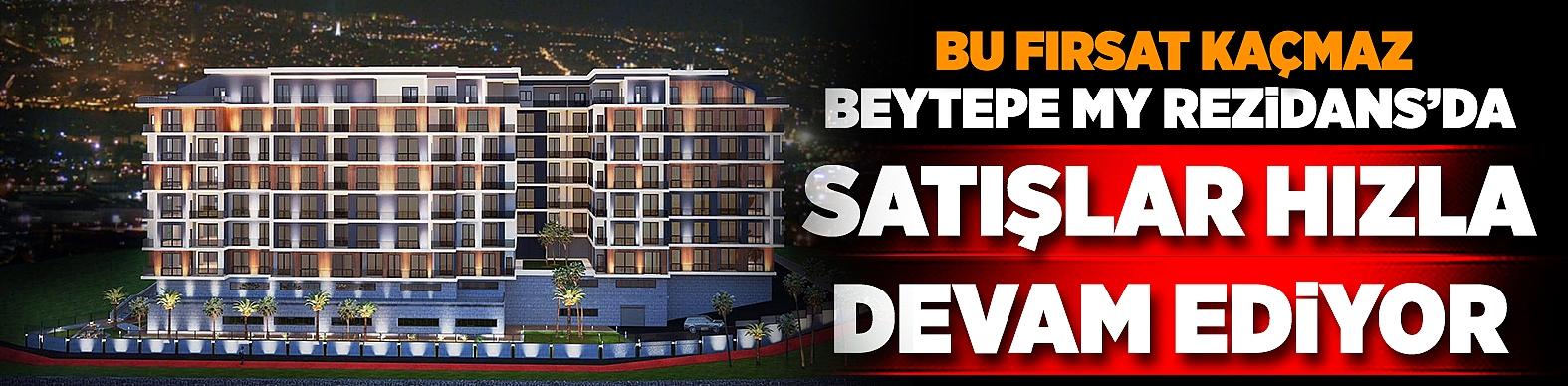 Beytepe My Rezidans'da satışlar hızla devam ediyor