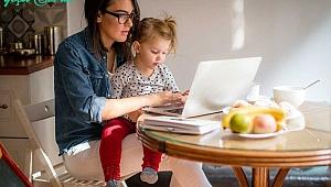Çalışan anneye destek