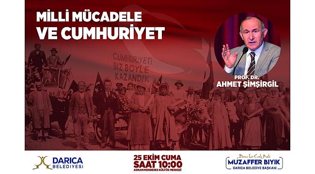 Darıca'da Milli Mücadele ve Cumhuriyet Söyleşisi