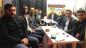 Emre Sarıca'dan esnafa ziyaret