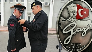 Gazi jandarma için Kocaeli'detören