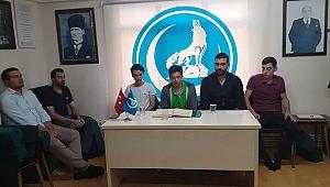 Gebze'de ülkücüler ordumuz için dua edecekler