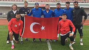 Gebzespor'dan harekâta Türk Bayrağı ile destek
