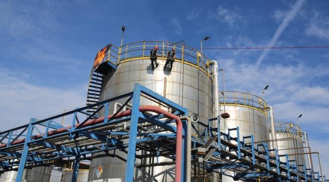 KORDSA'da kimyasal sızıntı tatbikatı