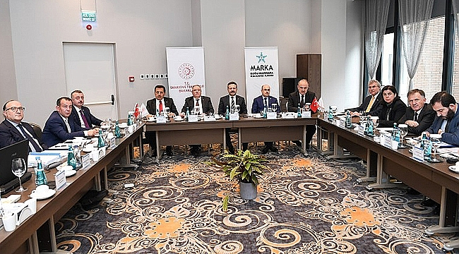 MARKA toplantısına Vali Aksoy ev sahipliği yaptı